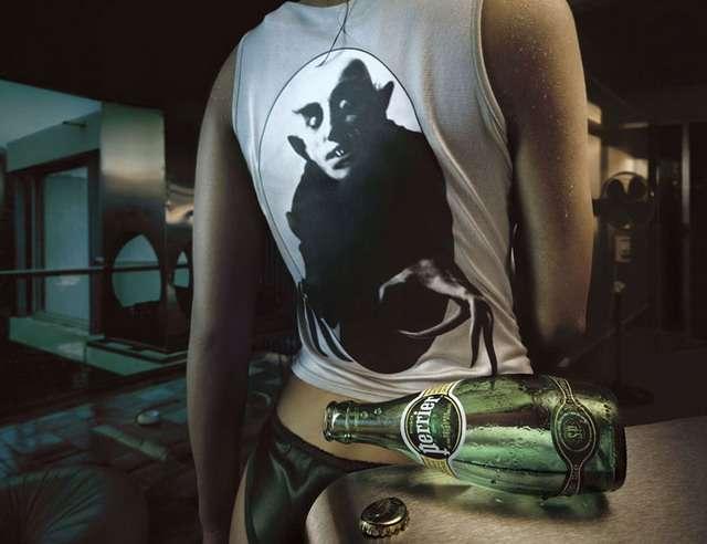 Креативная реклама фотографии