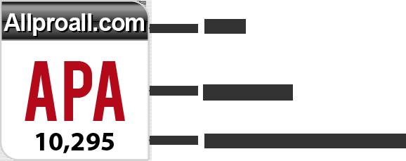 Объяснение таблицы Рунета