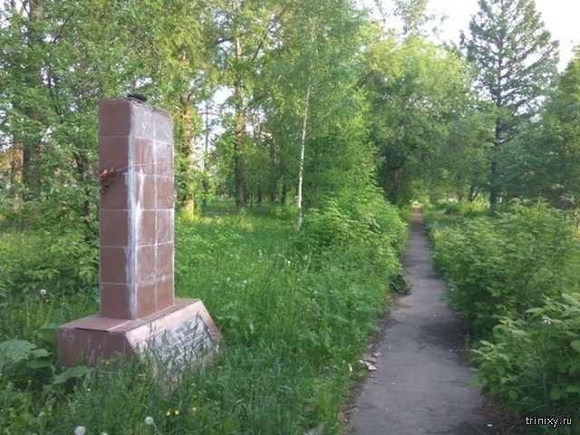 Обіцяний памятник Юрію Гагаріну (2 фото)