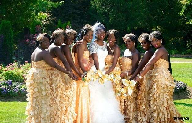 Самі незвичайні весільні традиції (10 фото)
