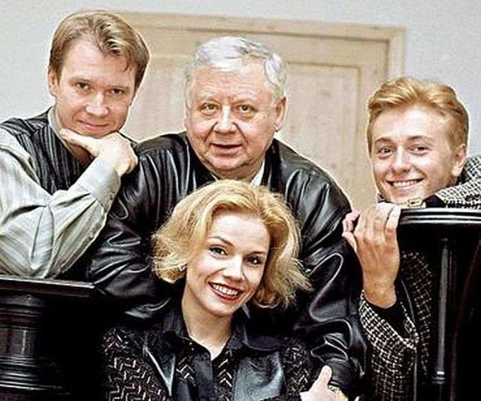 Знамениті радянські й російські актори (75 фото)