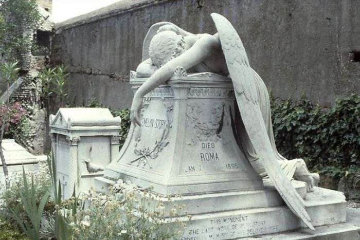 Скульптура «Ангел скорботи» - маловідома памятка Риму (5 фото)