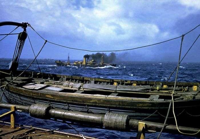 Атлантичний конвой на фото Роберта Капи (32 фото)