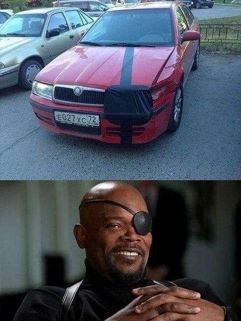 Автомобільний гумор (25 фото)