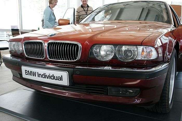 BMW 7-Series Long E38 від модельєра Карла Лагерфельда (9 фото)