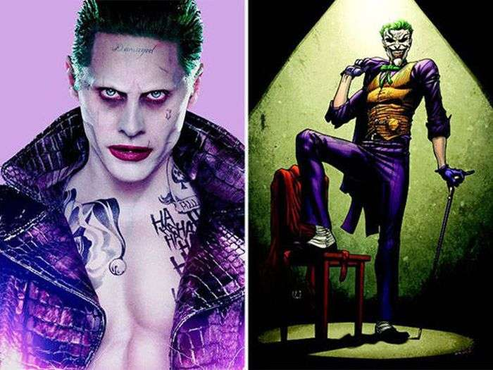 Супергерої і інші персонажі у фільмах і мультфільмах (30 фото)