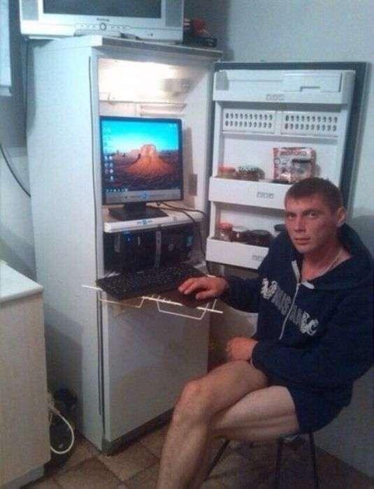 Винахідливі користувачі рятують компютер від перегріву (19 фото)