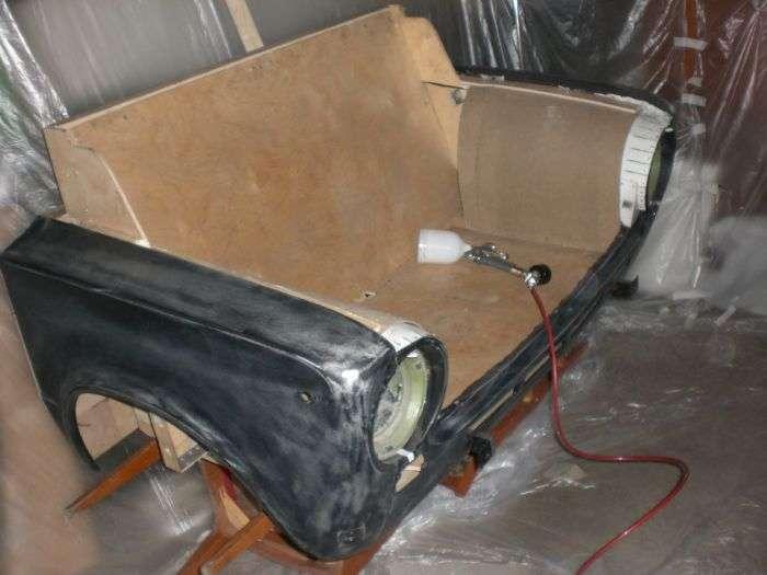 Ексклюзивний диван з ВАЗ-2101 (19 фото)