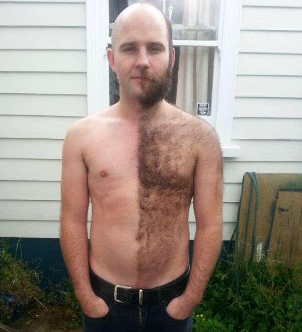 Чоловіки збривають бороду (22 фото)