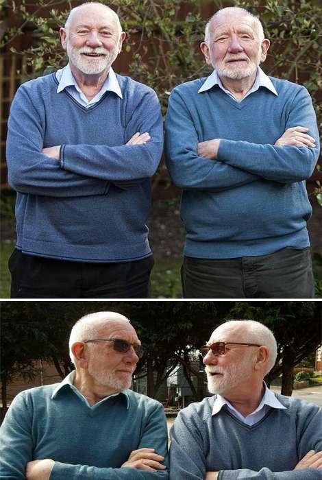 Люди, що зустріли своїх двійників (17 фото)