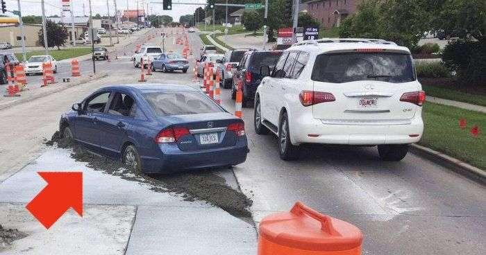 Обїзд пробки обійшлася водієві в 10 000 доларів (3 фото)