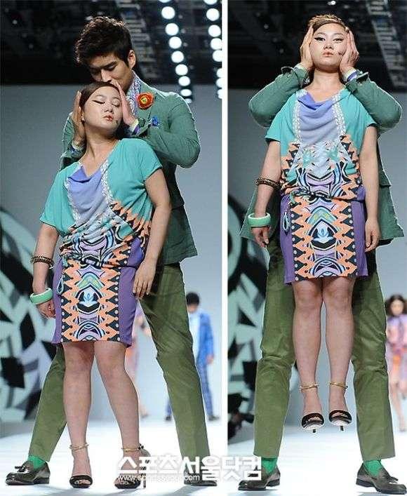 Дивний модний показ (4 фото)