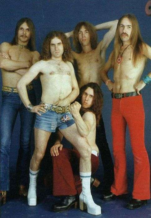 Рідкісні фото знаменитих рок-музикантів (60 фото)