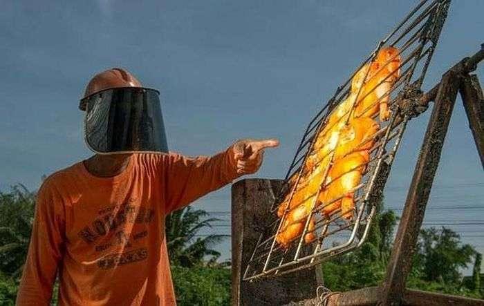 Жаровня на сонячних променях (4 фото)