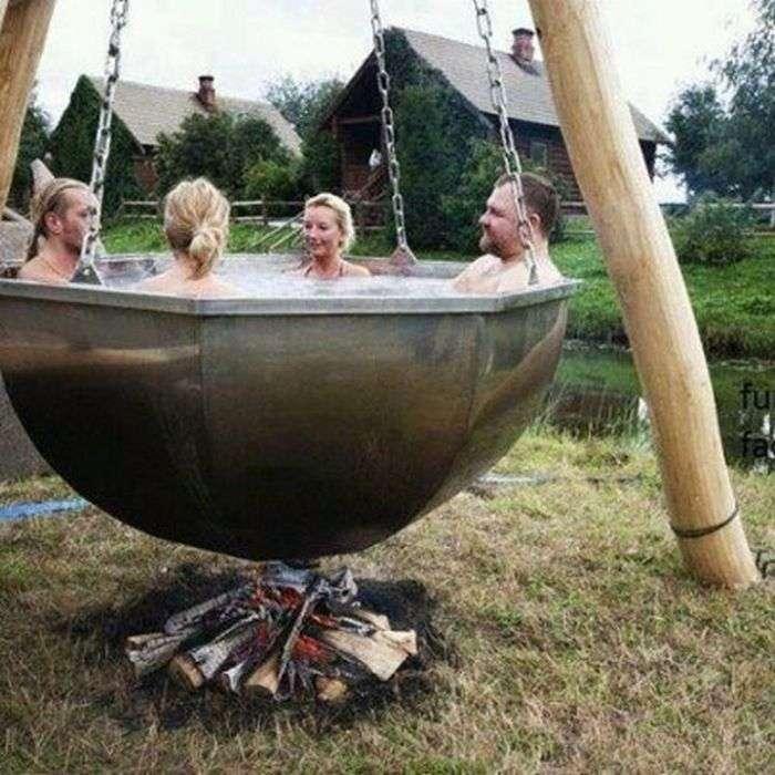 Народні способи підігріву холодної води (16 фото)