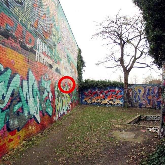 Стіна графіті в Нідерландах (6 фото)