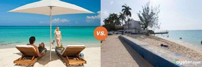 Готелі на рекламних фото і в реальності (10 фото)