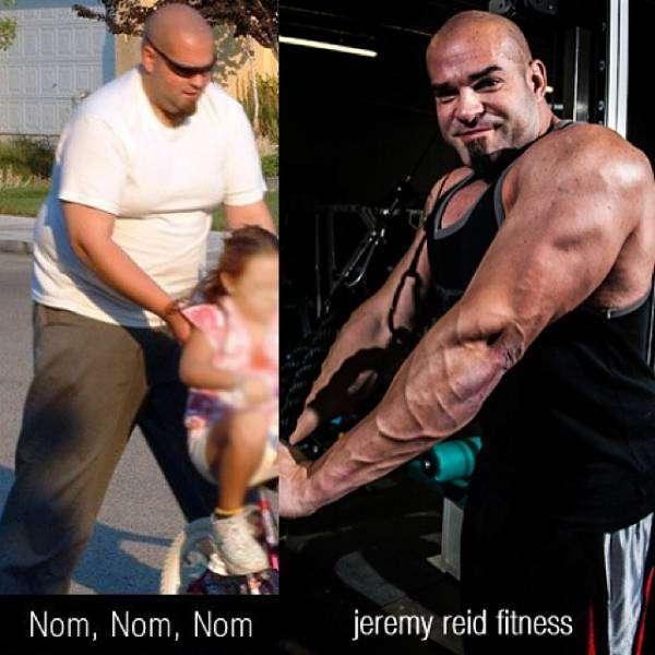 Чоловіки, що подолали зайву вагу (9 фото)