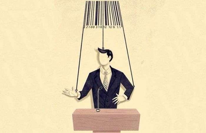 Карикатури, що відображають сучасне життя (30 малюнків)