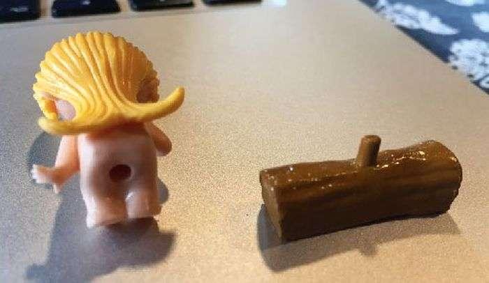 Незвичайна іграшка з «кіндер-сюрпризу» (3 фото)