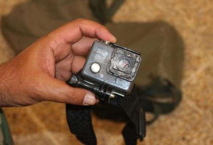 Екшн-камера врятувала життя іракському оператору Аммару Алваели (3 фото + відео)