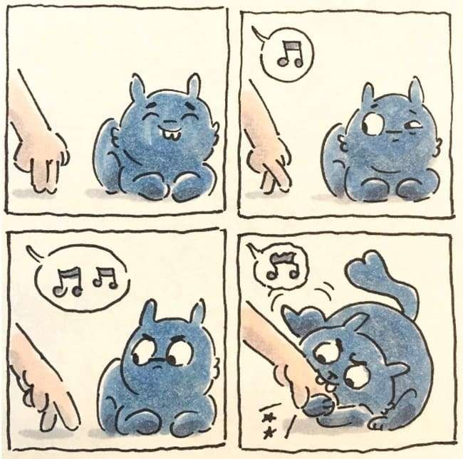 Смішні і правдиві комікси про життя з котом (15 картинок)