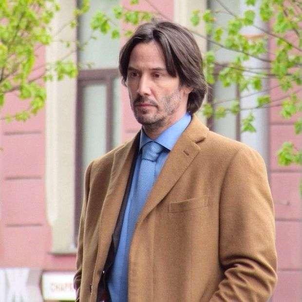 Кіану Рівз прибув у Санкт-Петербург для зйомок у фільмі «Сибір» (6 фото)