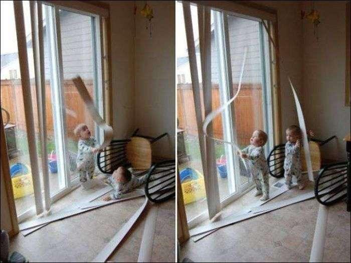Діти пустують (47 фото)