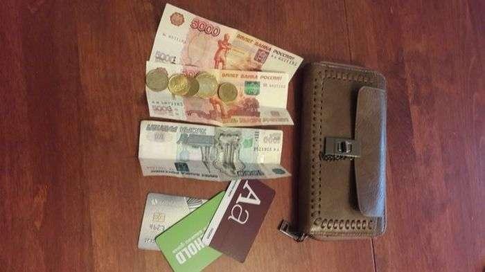 Записка в гаманці (3 фото)