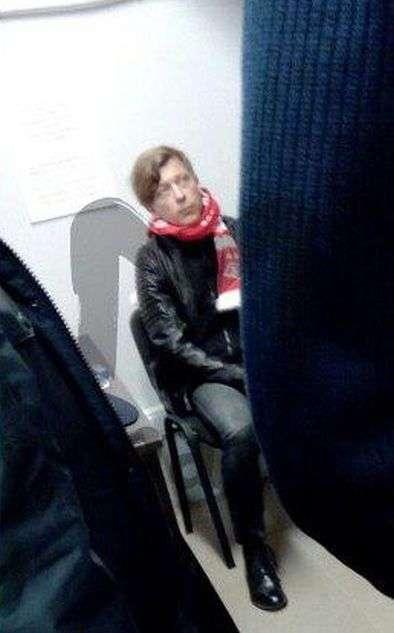 Музиканта Льову Бі-2 (Єгора Бортника) затримали з марихуаною на стадіоні «Відкриття-арена» (2 фото)