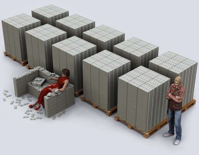 $20 трлн держборгу США у стодоларових купюрах (8 картинок)