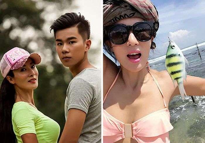 49-річна китаянка Лю Єлін вразила всіх своєю молодістю і красою (12 фото)