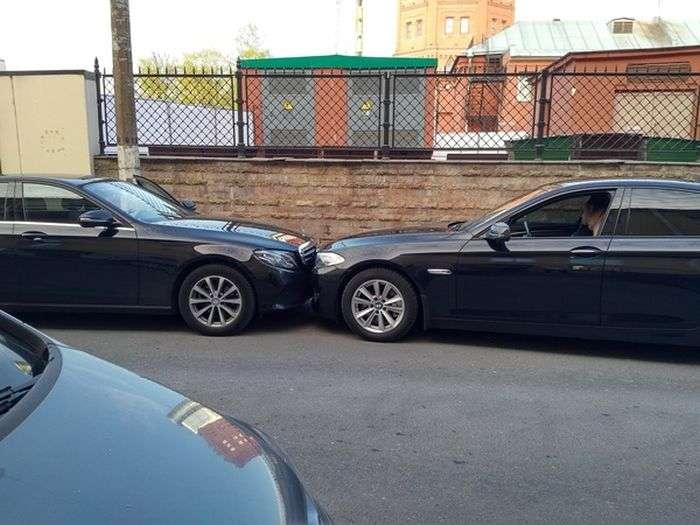 Неадекватні хлопці на BMW (6 фото)