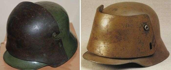 «Рогаті» каски німецьких солдатів (5 фото)