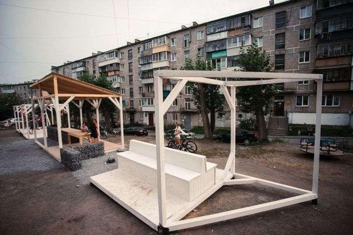 Як архітектурний фестиваль перетворив міста Сатку (16 фото)