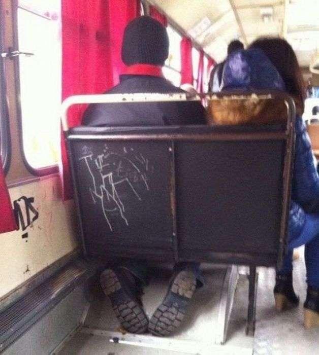 Гумор з громадського транспорту (20 фото)