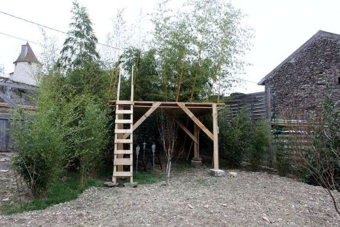 Деревяний замок для пятирічної дівчинки (15 фото)