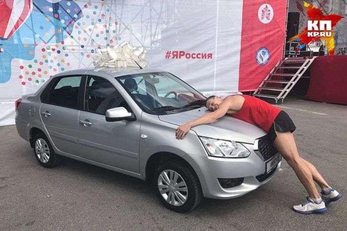 Нижегородський спортсмен Микола Бурда виграв автомобіль в пятий раз (2 фото)