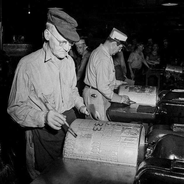 Як друкувалися газети в роки Другої світової війни (13 фото)