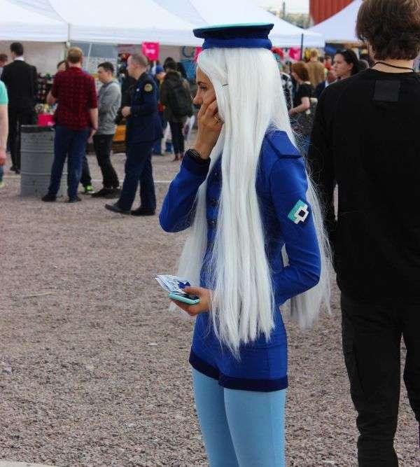 Дівчина в образі Роскомнагляд-тян на «Великому фестивалі» в Санкт-Петербурзі (7 фото)