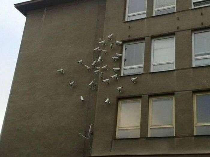 Хтось дуже сильно турбується про своє майно (43 фото)
