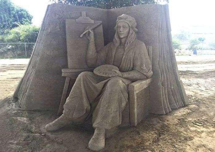 Пісочні скульптури Тосіхіко Хосаки (22 фото)