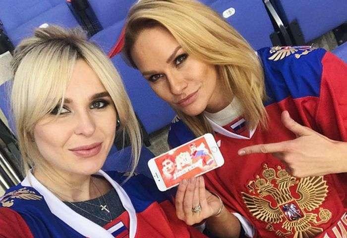 Дружини і дівчата хокеїстів збірної Росії на ЧС-2017 (8 фото)