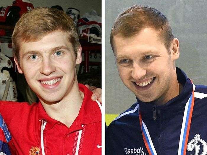 Хокеїсти збірної Росії 2005 року тоді і зараз (10 фото)