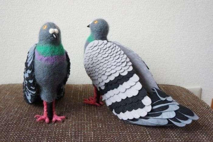Туфлі у вигляді голубів (6 фото)