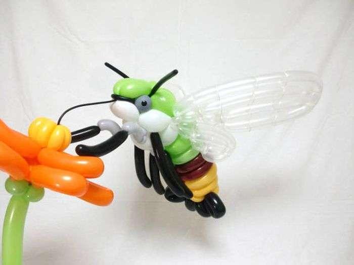 Справжні витвори мистецтв з повітряних куль (30 фото)