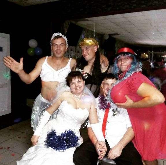 Весільні приколи (28 фото)