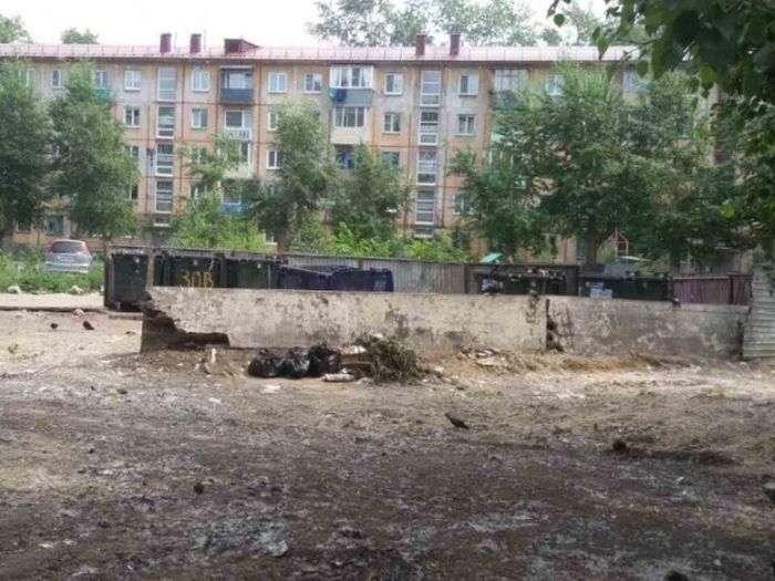 В Омську ліквідували стихійне сміттєзвалище, щоб на неї не нарікали Путіну (2 фото + відео)