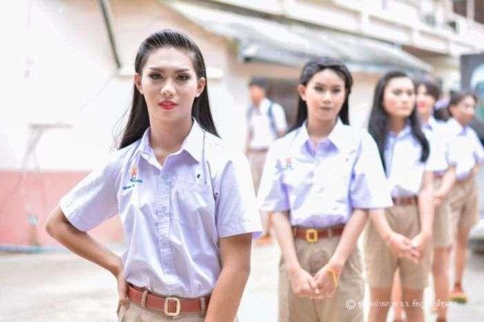 Шкільне захід в тайській школі (7 фото)