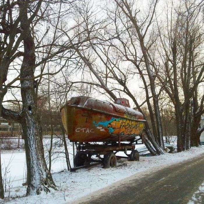 Фото, які можливо було зробити тільки в Росії. Частина 69 (36 фото)